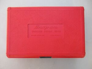 Snap On Cooling System Tester Svts 262 With 45mm Adapters Lightly Used