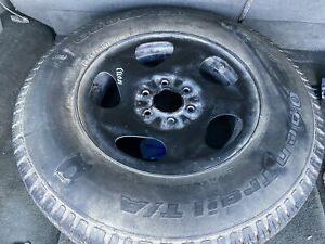 Wheel 16x7 Full Size Spare Fits 02 09 Trailblazer With Tire Free Shipping