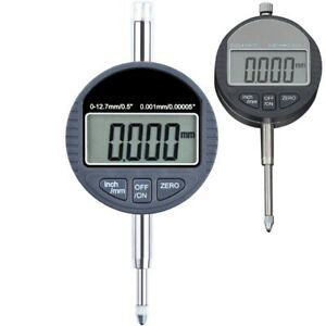 Dial Gage Tester Digital Indicator Micrometer Electronic Inch 0 12 7mm 0 25 4mm