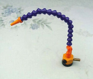 Small Magnetic Base With 1 4 Coolant Hose For Milling c1