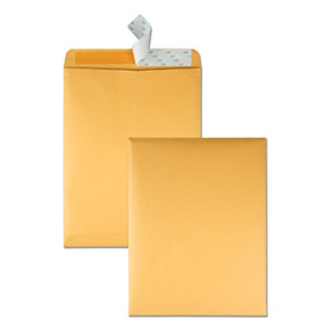 Quality Park 10 X 13 Catalog Envelopes With Self Seal Closure 28 Lb Brown Great