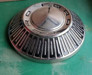 Nos 1965 66 Ford 427 Galaxie 500 Dog Dish Poverty Hubcap