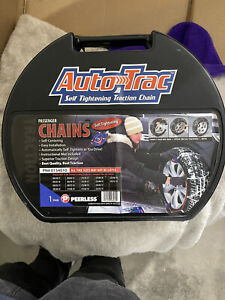 Autotrac Self Tightening Traction Snow Chains Stock 0154010