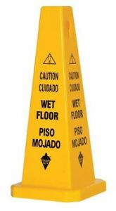 Tough Guy 6vkr7 Safety Cone caution Wet Floor eng sp pp