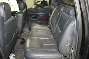 2004 Chevy Avalanche 1500 Second 2nd Row Leather Back Bench Rear Seat Oem