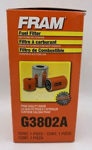 New Fram Fuel Filter G3802a New In Box