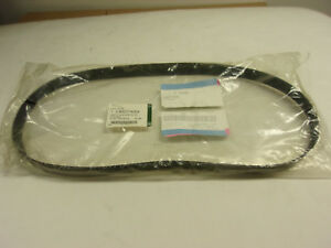 Jaguar Xjr 1995 To 1997 Supercharger Drive Belt Nbd7740ea Factory Part
