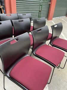 250 Siton It Seating Stacking Chairs For Sale