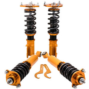 Coilovers Kits For Mitsubishi Lancer mirage ralliart 2002 03 04 05 06 Golden