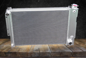 Aluminum Radiator Fit 1967 69 Chevy Camaro Pontiac Firebird Big Block 23 w 3 Row