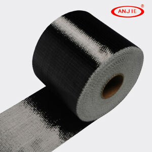 Real Carbon Fiber Fabric Toray T700 Unidirectional Cloth Tap 12k 300gsm 8 Width