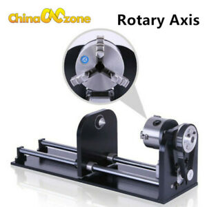 Co2 Roller Rotation Axis Rotary Attachment Rotate Engraving For Cutting Machine