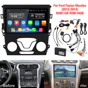 9 Screen Android Stereo Radio Rear Camera For Ford Fusion Mondeo 13 14 Xc460