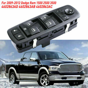 Master Power Window Switch For Dodge Ram 1500 2500 3500 2009 2012 Driver Side Lh