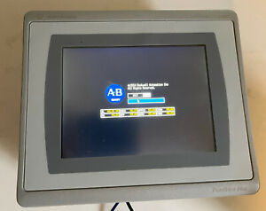 Allen Bradley 2711p t6c21d8s Panelview Plus 7 Color Touch Screen Hmi 6 24vdc