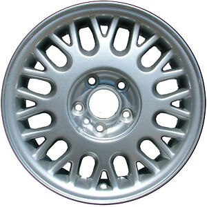 15x6 5 24 Spoke Refurbished Volvo Alloy Wheel Silver 560 70184