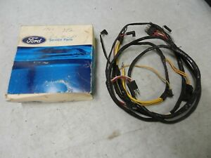 Dash Panel To Engine Wiring Harness 1961 63 Ford Truck Nos