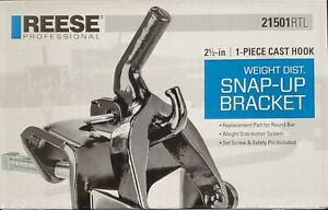 Reese 21501rtl Weight Distribution Hitch Bracket
