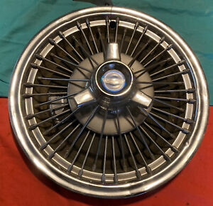 Ford Mustang Fairlane Galaxie Wire Hubcap 1965 1966 1967 15 Tri Bar Spinner Oem