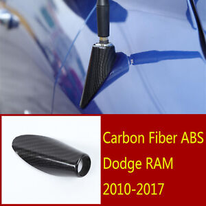 Carbon Abs Antenna Adapter Mount Mounting Base Accessories For Dodge Ram2010 17