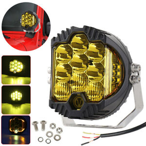 5inch 7inch Led Work Light Pods Spot Flood Combo Fog Lamp Offroad Driving Car