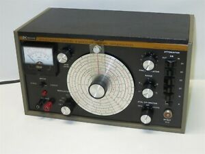 Vintage B k Precision Model E 2000 Solid State Rf Signal Generator Tested