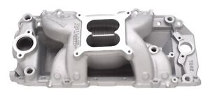 Edelbrock 7562 2 R Rpm Air Gap Intake Manifold Big Block Chevy Rectangle Port