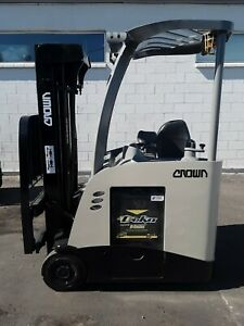 2014 Stand Up Crown Electric Forklift