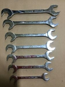 Proto 4 Way Open End Wrench Set 9 16 11 16 3 4 13 16 7 8 15 16 And 1
