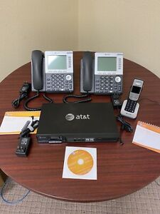 At t Synapse System Bundle Sb67010 Pstn Gateway With 2 Phones Sb67030 1 Cor
