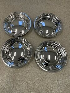 95 04 S10 Blazer Sonoma Chrome Wheel Skins 15 In For 4x2 2wd Imposters Covers