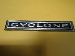 1965 Comet Cyclone Rear Quarter Panel Emblem