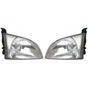 Fits 2001 2003 Toyota Sienna Headlight Pair Side