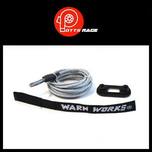 Warn For Warn Pullzall Winches 7 32 Diameter X 15 Length Winch Cable 76065