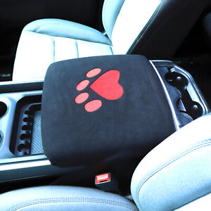 Center Console Armrest Pad Cover For Dodge Ram 1500 2500 3500 4500 2010 2020 1pc