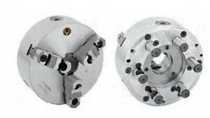 Bison bial 10 D1 8 Direct Mount 3 jaw Semi steel Scroll Lathe Chuck
