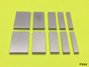 Kingsley Machine 108pt Spacers Set 5 sizes 2 each Hot Foil Stamping Machine