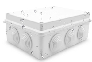 5 9 Plastic Junction Box Ip65 Waterproof Universal Electrical Project Enclosure