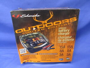 New Schumacher Outdoors Limited Edition Automatic Battery Charger 6v 12v Camo