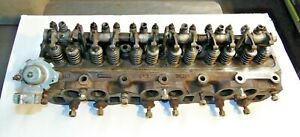 1973 76 Triumph Tr6 Complete Cylinder Head 312388 Bolt On And Go Very Nice Mv