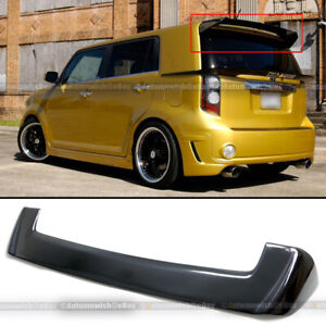 For 08 14 Scion Xb Gloss Black Jdm Oe Factory Style Rear Trunk Roof Wing Spoiler