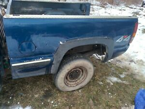 2002 Chevrolet Silverado Truck Bed 6 5 Ft Fits 1999 06