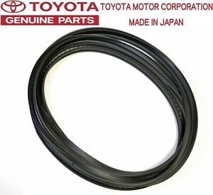 Toyota Genuine Oem Jza70 Supra Mk3 Rear Hatch Trunk Weather Strip Seal Jdm