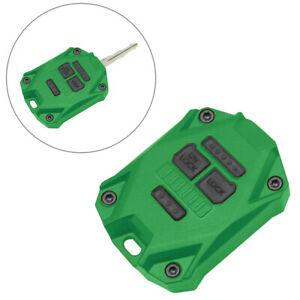 Car Key Fob Shell Case Cover Fit Jeep Wrangler Jk 2007 2017 Green New