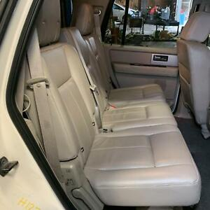 2007 Ford Expedition 2nd Row Passenger Right Side Leather Folding Seat