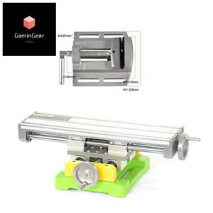 Miniature Precision Multifunction Milling Machine Bench Drill Vise Worktable X Y