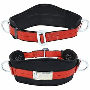 X Xben Portable Safety Belt Fall Arrest Kit With Hip Pad And 2 D Rings Harness