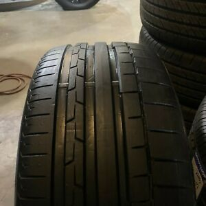 235 35r18 95y Xl Bsw Gm Continental Sport Contact 6 Single Used Tire 235 35 19