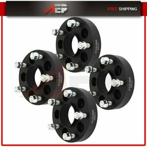 4x 5x4 5 To 5x5 Wheel Spacers Adapters 1 25 For Jeep Cherokee Wrangler Liberty