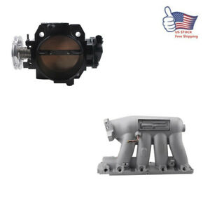 For 06 11 Civic Si K20z3 04 08 Acura Rsx Base Intake Manifold Throttle Body Us